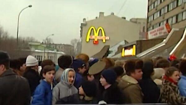 Макдоналдсу в России - 30 лет - Sputnik Абхазия