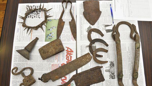Переданные музею артефакты  - Sputnik Абхазия