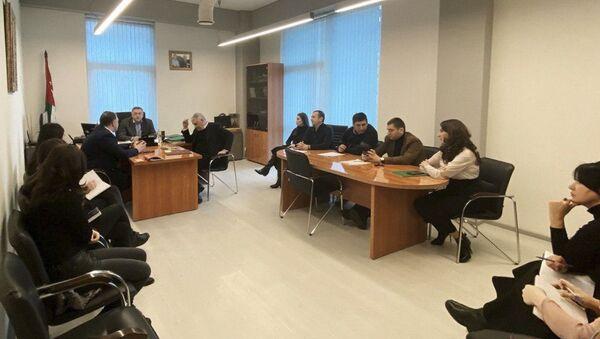 Коллегия Государственного комитета Республики Абхазия по управлению государственным имуществом и приватизации - Sputnik Абхазия