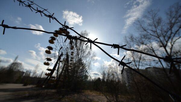 В эвакуированном после аварии на ЧАЭС городе Припять в Чернобыльской Зоне Отчуждения - Sputnik Абхазия