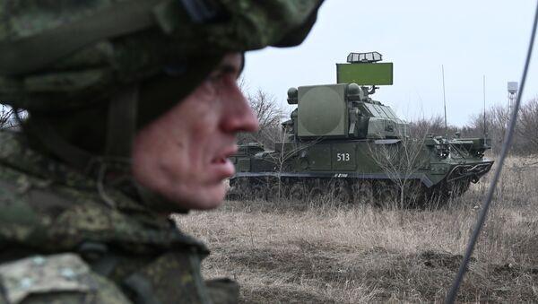 Зенитный ракетный комплекс Тор во время тактических учений Южного военного округа в Ростовской области - Sputnik Аҧсны