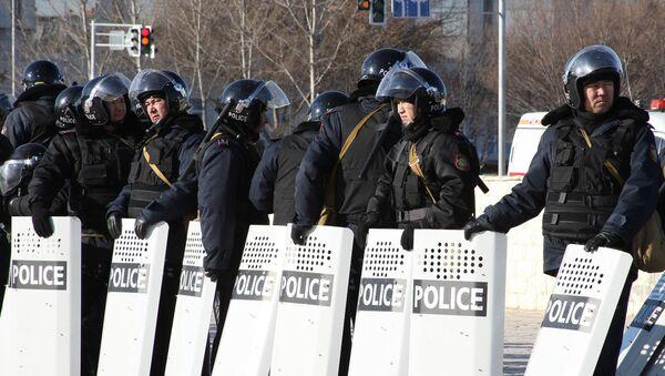 Полиция Казахстана - Sputnik Абхазия