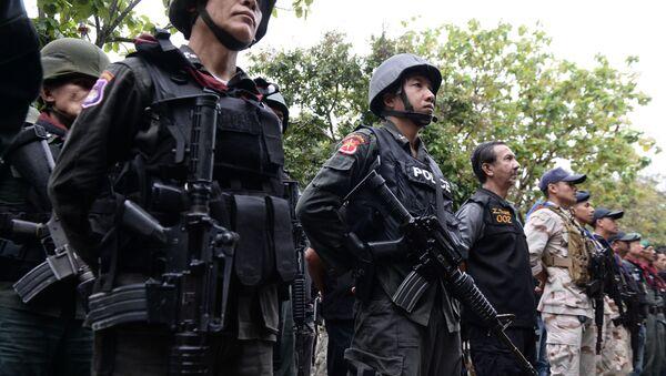 Тайская полиция - Sputnik Абхазия