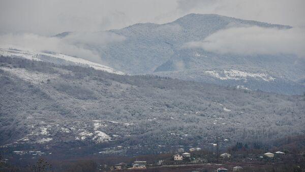 Снег в Сухуме - Sputnik Аҧсны