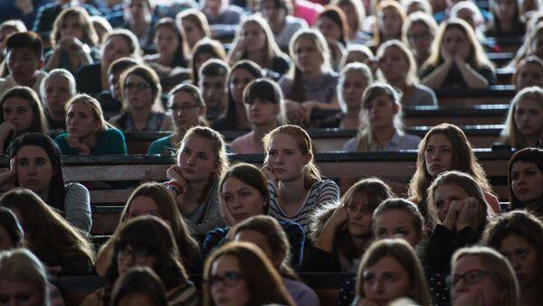 Студенты в аудитории - Sputnik Абхазия