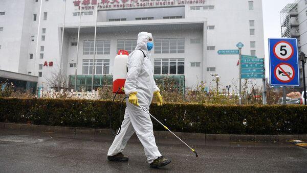 Вирус в Китае  - Sputnik Аҧсны