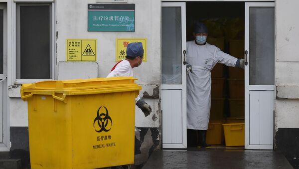 Вирус в Китае  - Sputnik Абхазия