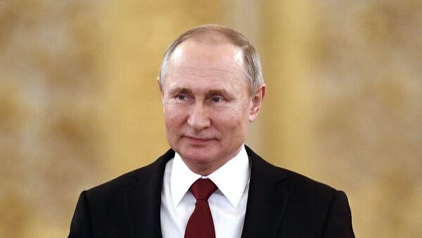 Президент РФ В. Путин  - Sputnik Аҧсны