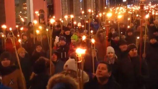 В Эстонии националисты устроили факельное шествие в честь Дня независимости республики - Sputnik Абхазия