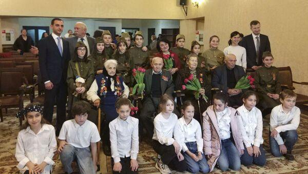 Дом Москвы поздравил ветеранов Великой Отечественной войны - Sputnik Абхазия