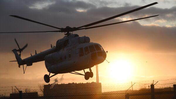 Вертолет санавиации - Sputnik Абхазия