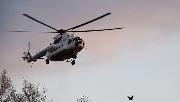 Вертолет санавиации - Sputnik Аҧсны