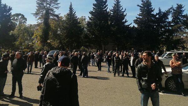 Ситуация у парламента  - Sputnik Аҧсны