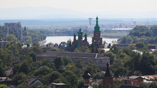 Вид на город Краснодар. - Sputnik Аҧсны