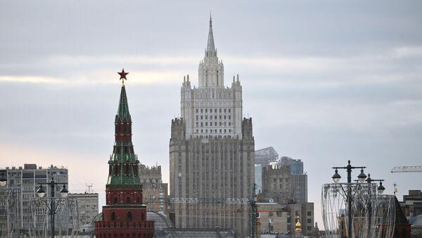 Здание Министерства иностранных дел РФ - Sputnik Аҧсны