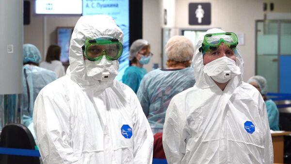 В Шереметьево усилили санитарный контроль в связи с коронавирусом   - Sputnik Абхазия