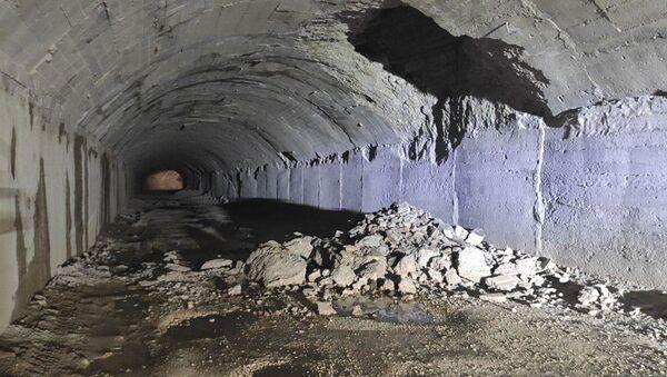 Обвал в тоннеле  - Sputnik Аҧсны