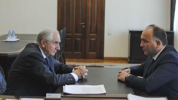 Исполняющий обязанности Президента, Премьер-министр Валерий Бганба - Sputnik Аҧсны