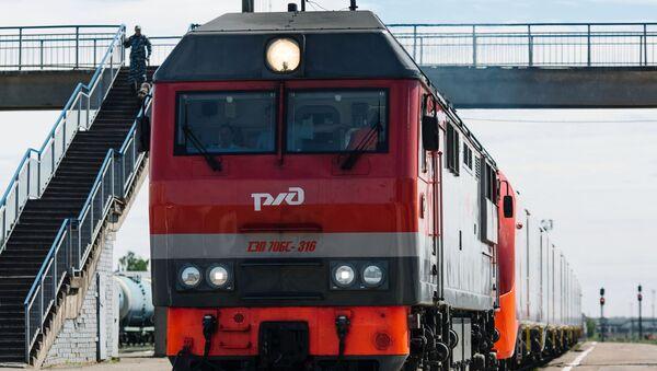 Скоростной поезд - Sputnik Аҧсны