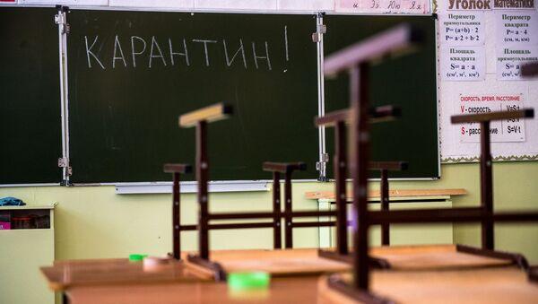 Карантин в школах - Sputnik Аҧсны