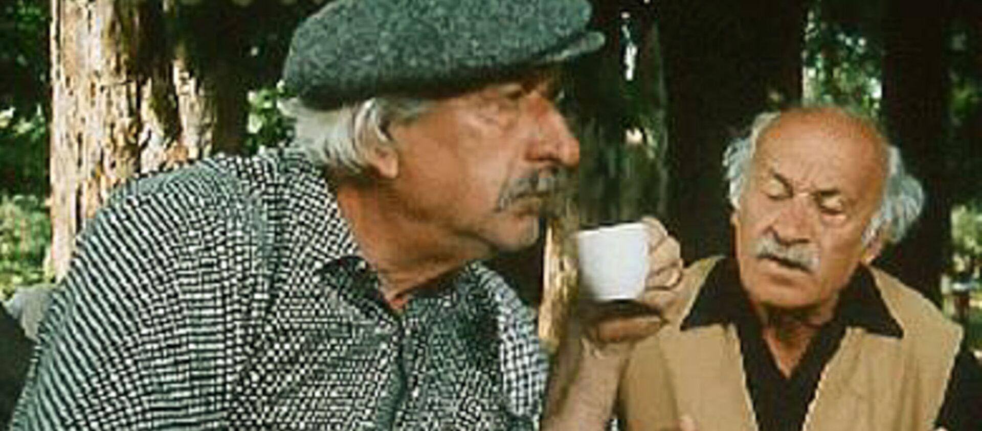 Хута Джопуа. Кадр из фильма Созвездие Козлотура  - Sputnik Аҧсны, 1920, 15.03.2020