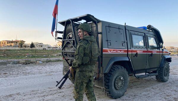 Российская военная полиция в сирийской провинции Идлиб - Sputnik Абхазия