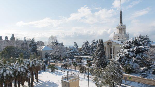 Зима в Сочи - Sputnik Аҧсны