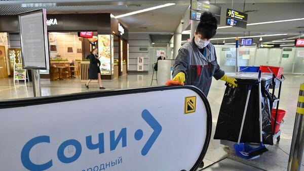 Санитарно-карантинный контроль в аэропорту Сочи - Sputnik Аҧсны