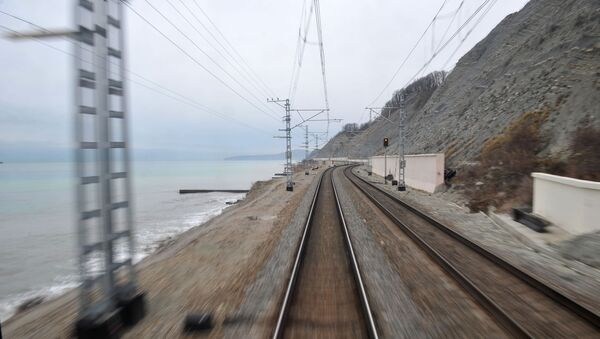 Путешествие из Москвы в Сочи на поезде - Sputnik Абхазия
