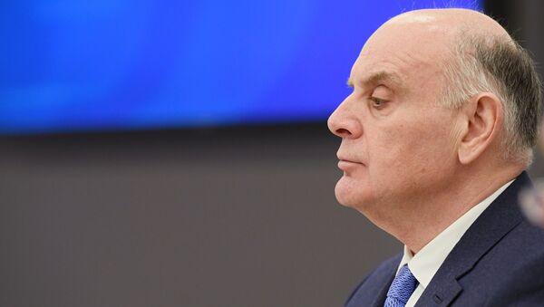 Кандидат в президенты Абхазии Аслан Бжания - Sputnik Аҧсны