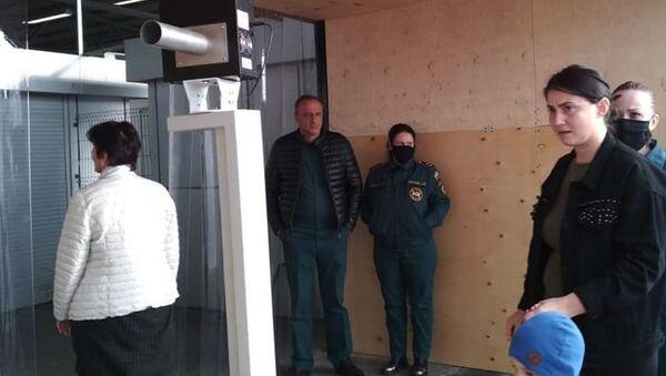 Ситуация на КПП Псоу - Sputnik Аҧсны