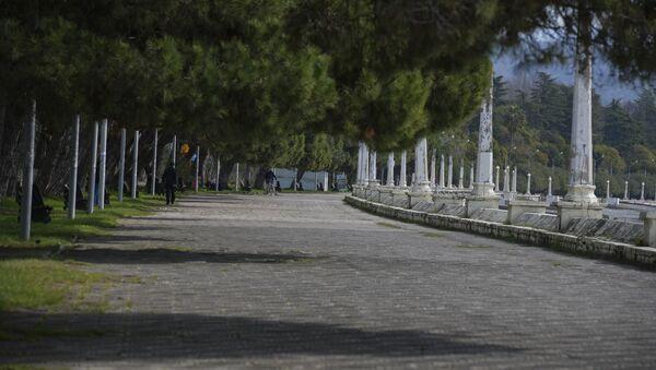 Первый день карантина из-за коронавируса - Sputnik Абхазия