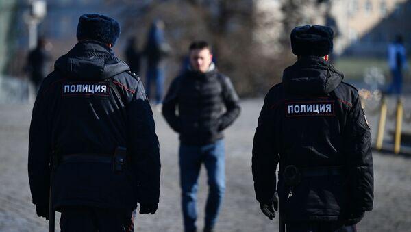 Полиция на улицах Москвы - Sputnik Абхазия