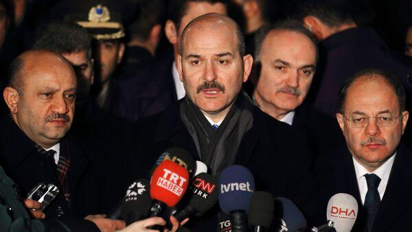 Министр внутренних дел Турецкой Республики Сулейман Сойлу - Sputnik Аҧсны