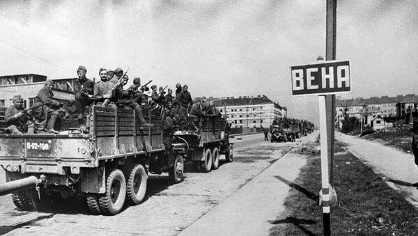 Советские войска вступают в Вену. - Sputnik Аҧсны