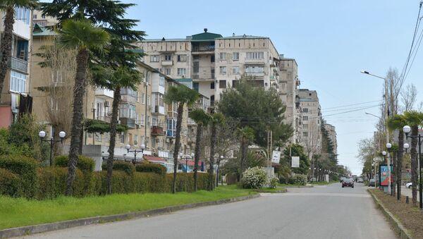 Гагрские дома  - Sputnik Абхазия