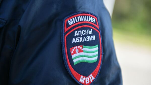 Сотрудник милиции  - Sputnik Аҧсны