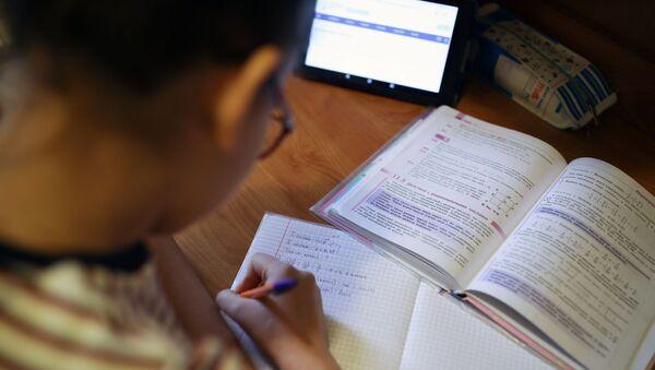 Дистанционное обучение школьников в Краснодарском крае - Sputnik Аҧсны