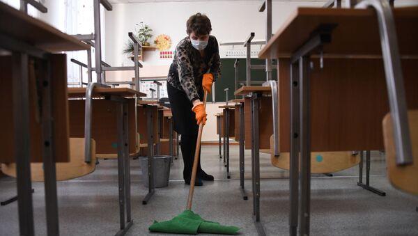 В школах Забайкалья прекращены занятия после выявления в регионе коронавируса - Sputnik Абхазия