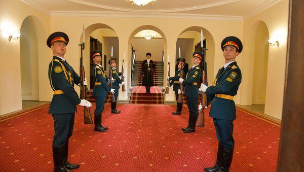 Церемония инаугурации избранного президента Абхазии Аслана Бжания - Sputnik Абхазия
