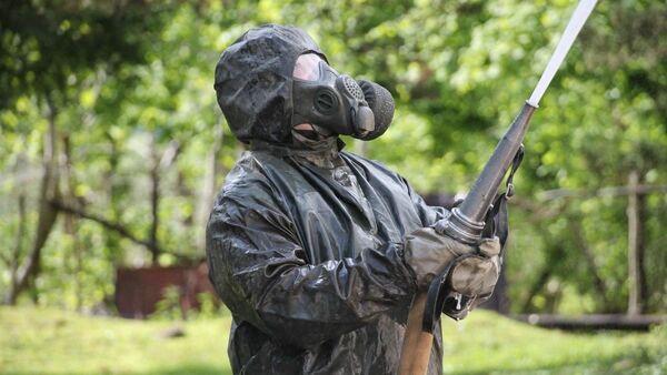 Дезинфекция в Ткуарчале  - Sputnik Абхазия