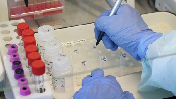 Лаборатория для тестирования на коронавирус в Архангельской области - Sputnik Аҧсны