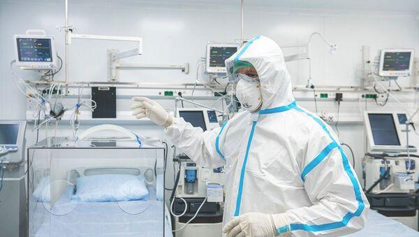 Открытие перепрофилированного корпуса в центре им М.И. Сеченова для лечения пациентов с коронавирусом - Sputnik Абхазия