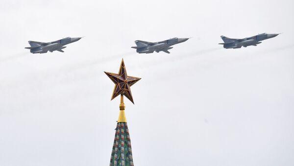 Репетиция воздушного парада Победы в Москве - Sputnik Абхазия