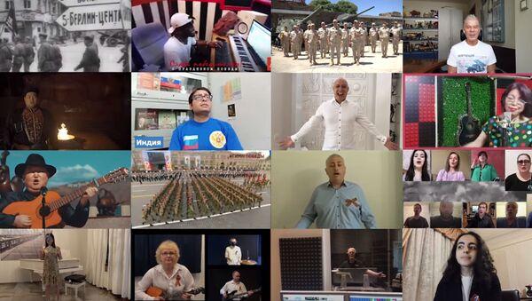 Более миллиона человек из 60 стран исполнили песню День Победы - Sputnik Абхазия