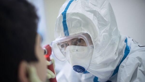 Центр НМИЦ здоровья детей Минздрава РФ, где проходят лечение дети с COVID-19  - Sputnik Аҧсны