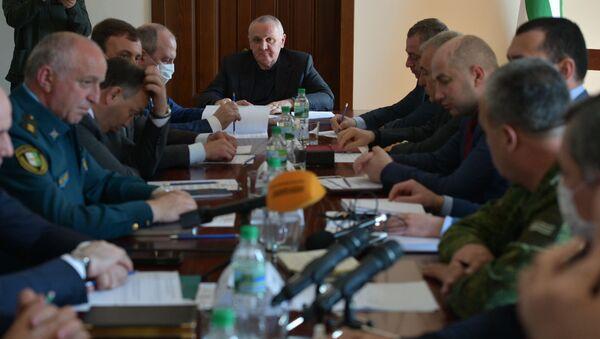 Заседание штаба - Sputnik Аҧсны