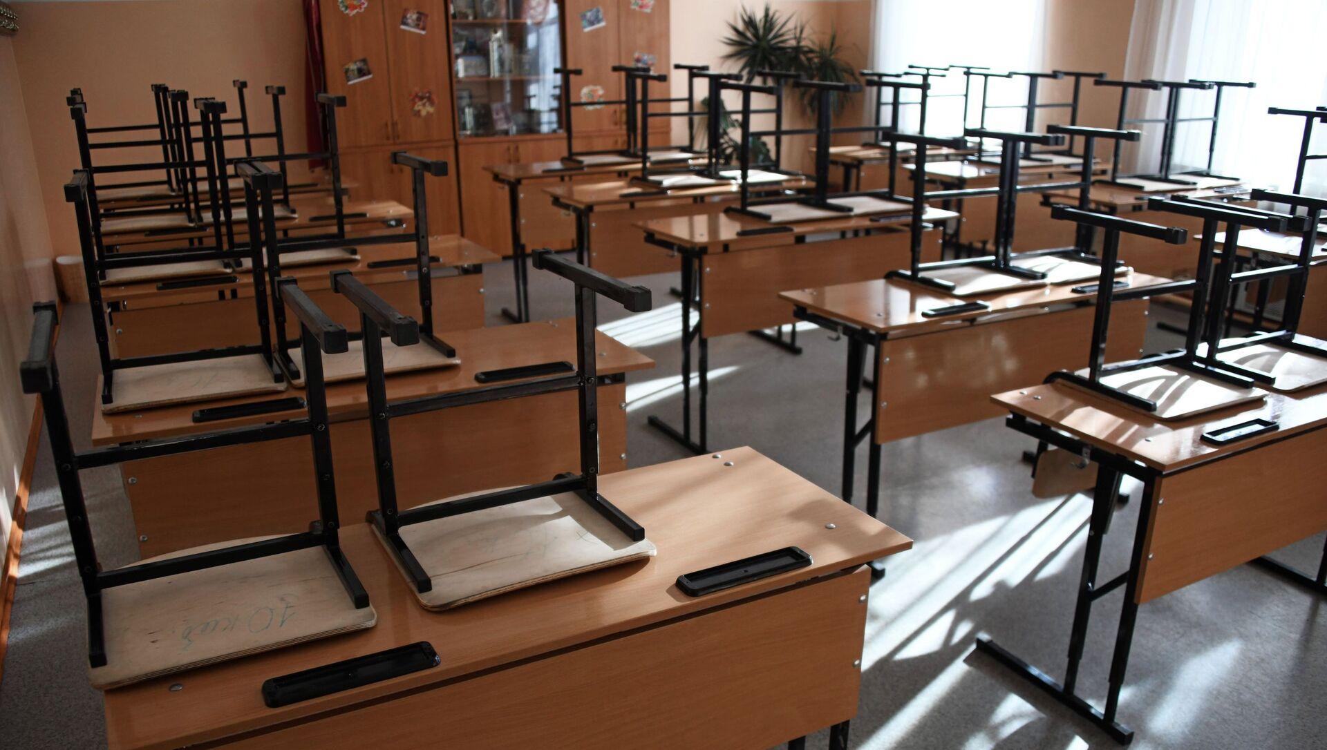 В школах Забайкалья прекращены занятия после выявления в регионе коронавируса - Sputnik Аҧсны, 1920, 23.09.2021