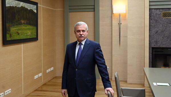 Президент РФ В. Путин провел встречу с генсеком ОДКБ С. Засем - Sputnik Абхазия