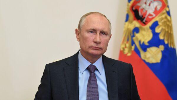 Президент РФ В. Путин провел совещание по вопросам поддержки авиационной промышленности и авиаперевозок - Sputnik Абхазия